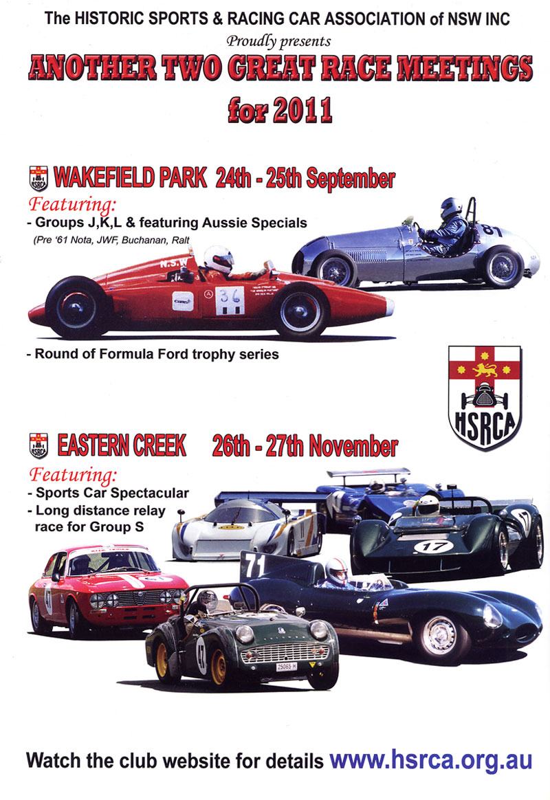 Historic Sports & Racing Car Association of NSW