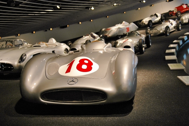 The Mercedes-Benz Museum