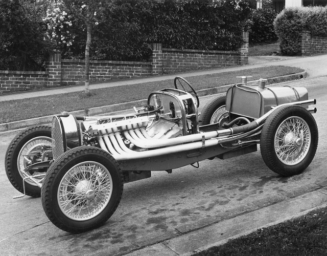Dacre Stubbs Photo Collection - Bugatti Type 51A chassis 51142