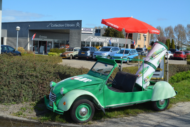 Citroën 2CV Museum in Andijk, the Netherlands