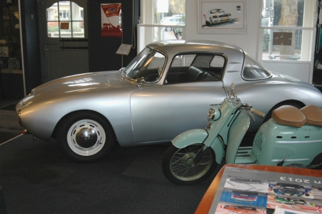 The Dutch Auto Union museum in Bergen