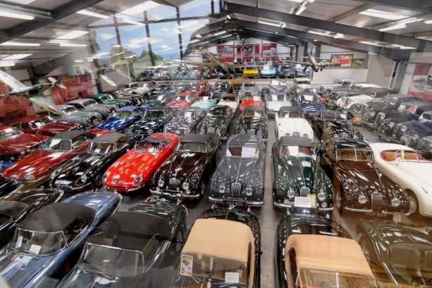 Jaguar Land Rover buys Britain's largest private car collection