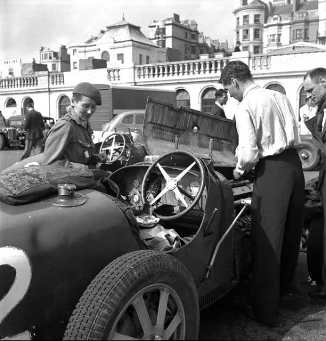 Dacre Stubbs Photo Collection - Brighton Speed Trials September 1946