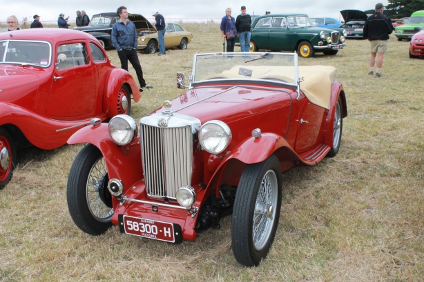 Myrniong Historic Car Sprint 2015